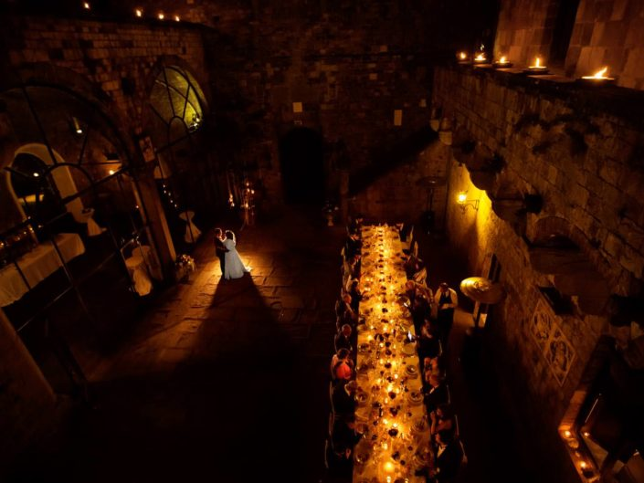 Wedding at Vincigliata Castle in Tuscany