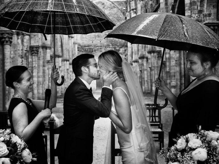 Wedding Ceremony at San Galgano Abbey