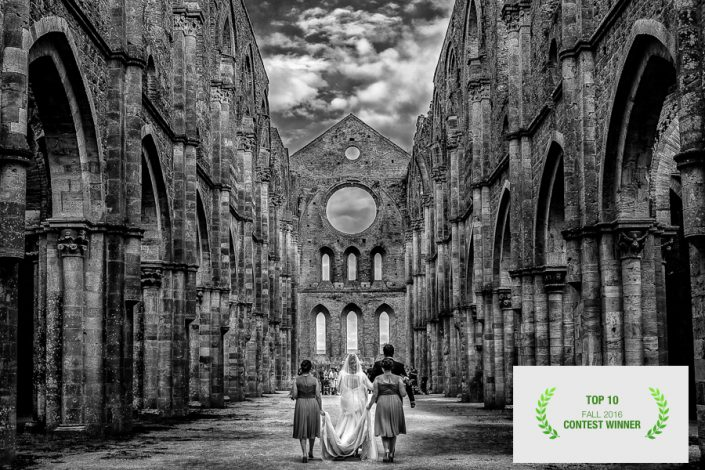 TOP 10 ISPWP Wedding Photography Contest Winner FALL 2016
