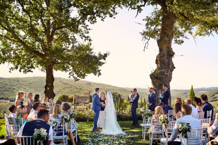 Wedding at Meleto Castle in Tuscany