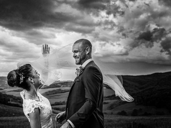 Wedding Ceremony in San Gimignano Siena