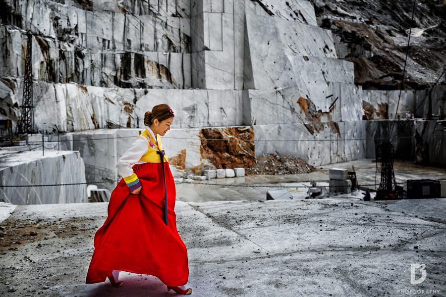Korean wedding in Tuscany Italy-10