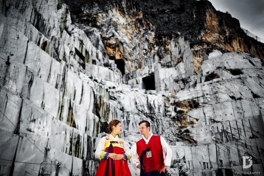 Korean wedding in Tuscany Italy-11