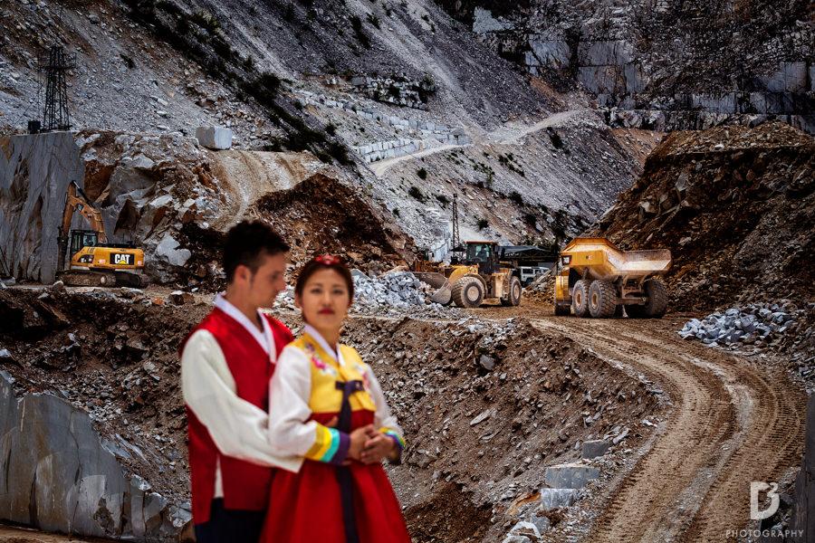 Korean wedding in Tuscany Italy-12