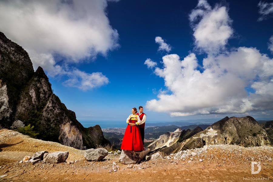 Korean wedding in Tuscany Italy-9
