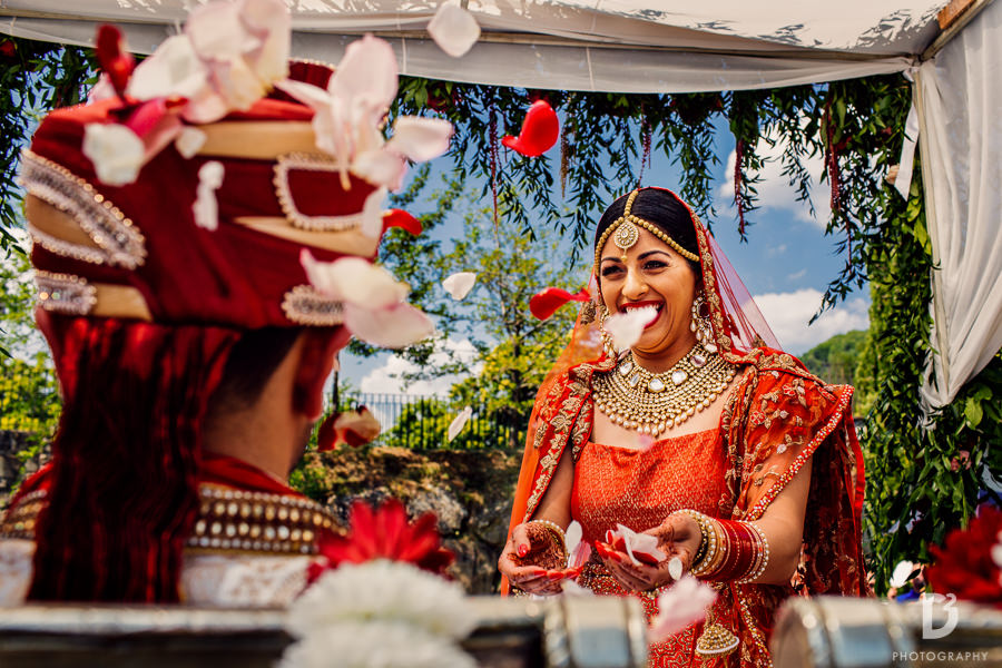 Indian ceremony in Tuscany Italy