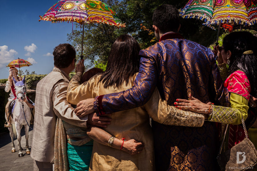 Indian wedding In Tuscany Italy at Renaissance Il Ciocco Resort & spa-19