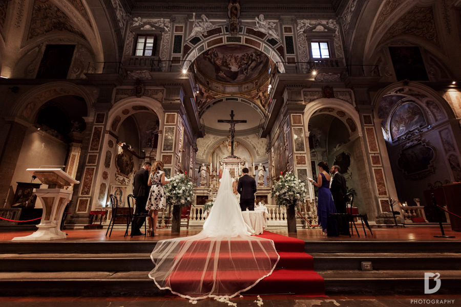 religious wedding in Florence-1