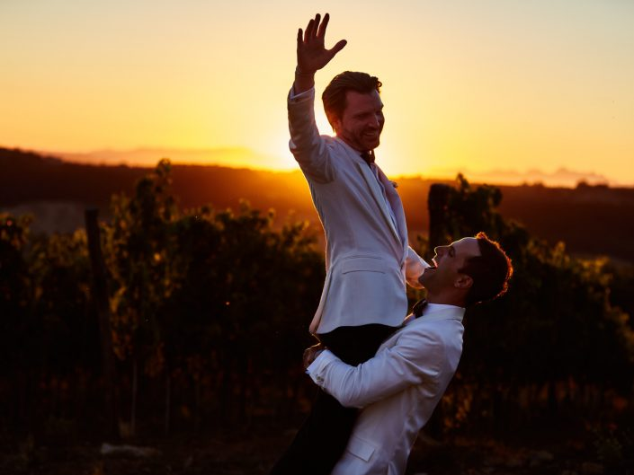 Emotional Wedding in Tuscany